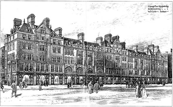 1903 &#8211; St George&#8217;s Place, Knightsbridge, London