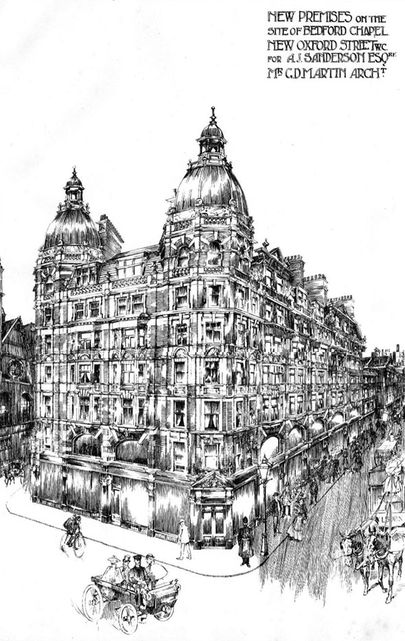 1899 – New Premises, New Oxford Street, London