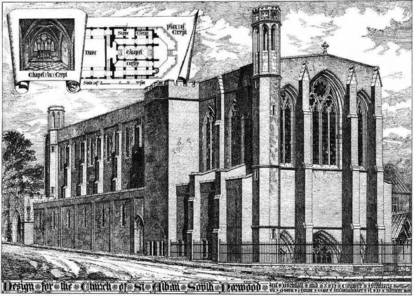 1892 &#8211; Church of St. Alban, South Norwood, London