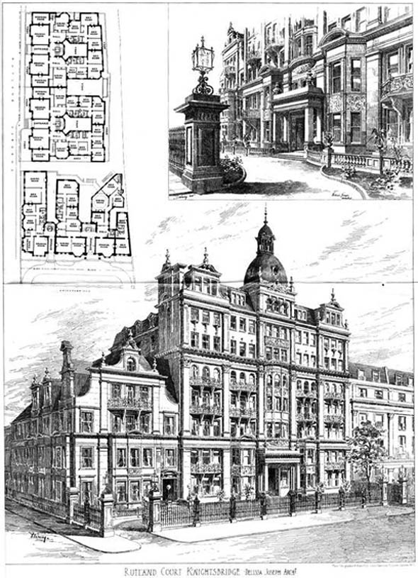 1903 – Rutland Court, Knightsbridge, London
