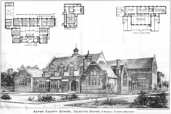 1903 &#8211; Acton County School, London