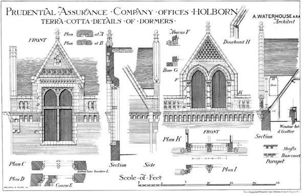 1878 &#8211; Prudential Assurance Company, Holborn, London