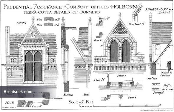 1878 – Prudential Assurance Company, Holborn, London