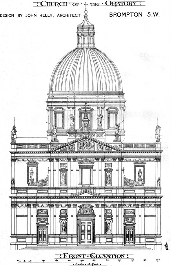 1878 &#8211; Brompton Oratory Competition, Kensington, London