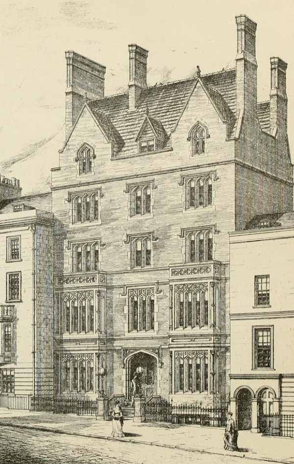 1880 &#8211; Private Hotel, Arundel Street, London