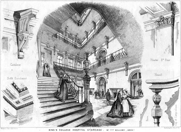 1866 – Kings College Hospital, London