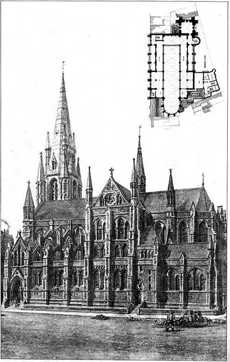 1885 – St. James's Church, Spanish Place, London