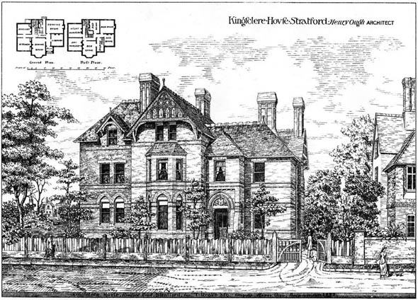 1879 &#8211; Kingsclere House, Stratford, London