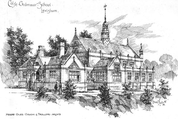 1891 – Colfe Grammar School, Lewisham, London