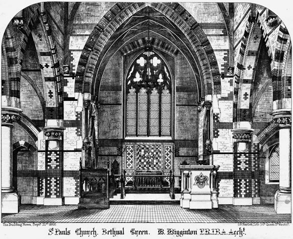 1865 &#8211; St. Pauls Church, Bethnal Green, London