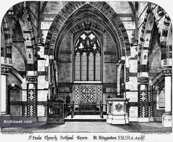 1865 – St. Pauls Church, Bethnal Green, London