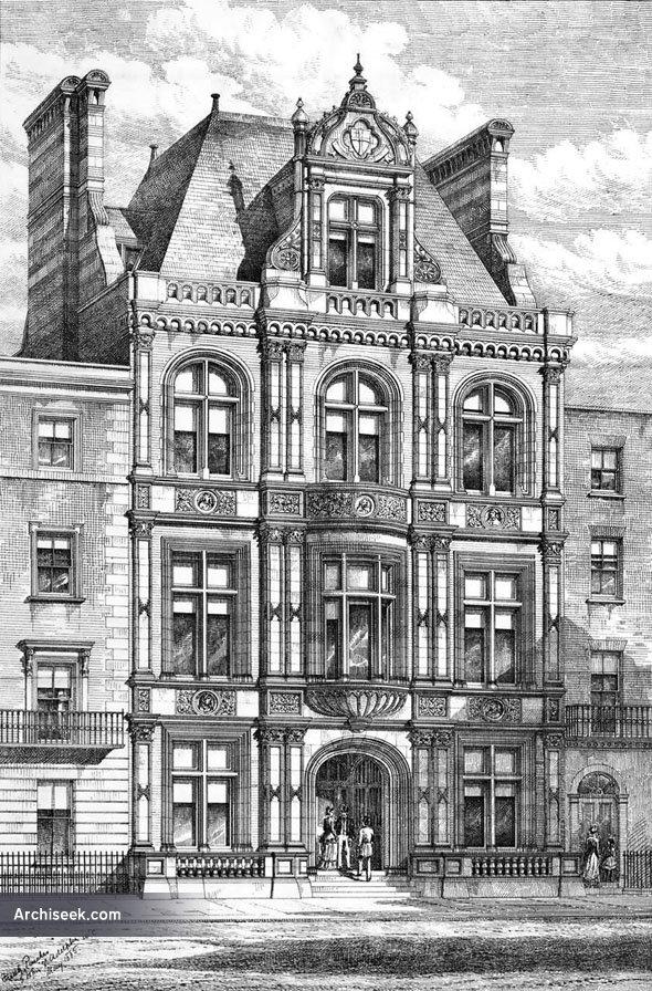 1885 – College of Preceptors, Bloomsbury Square, London
