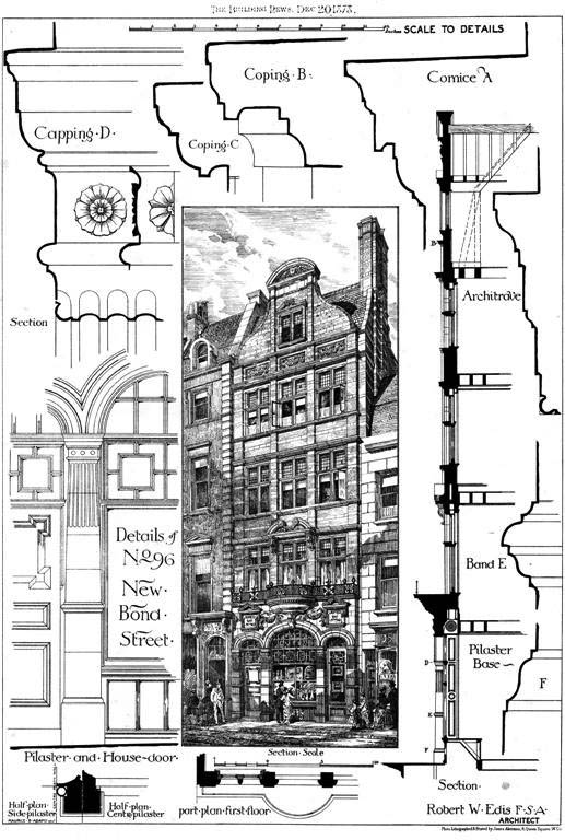 1878 &#8211; No.96, New Bond Street, Mayfair, London