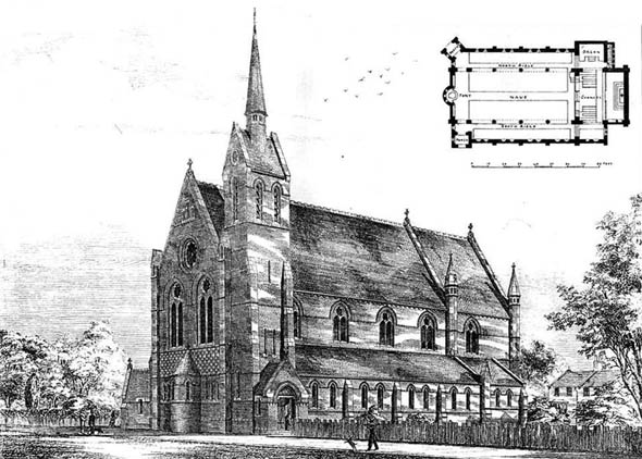 1878 &#8211; St. Matthews, Sydenham, London