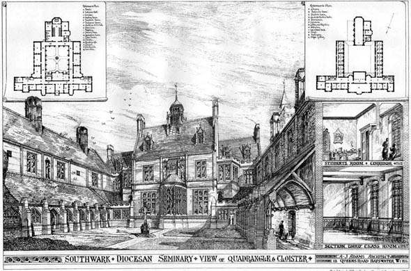 1878 &#8211; Southwark Diocesan Seminary, London