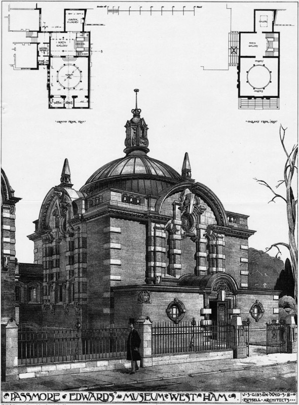 1900 – Passmore Edwards Museum, West Ham, London