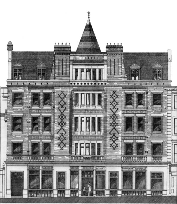 1882 &#8211; New Premises for George Herbert &#038; Co., Bedford Street, London