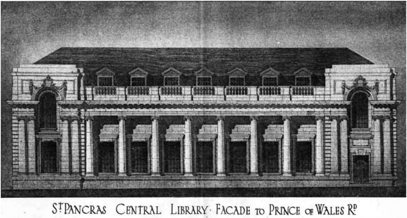 1906 &#8211; St. Pancras Central Library, London
