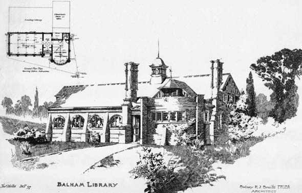 1898 &#8211; Balham Library, London
