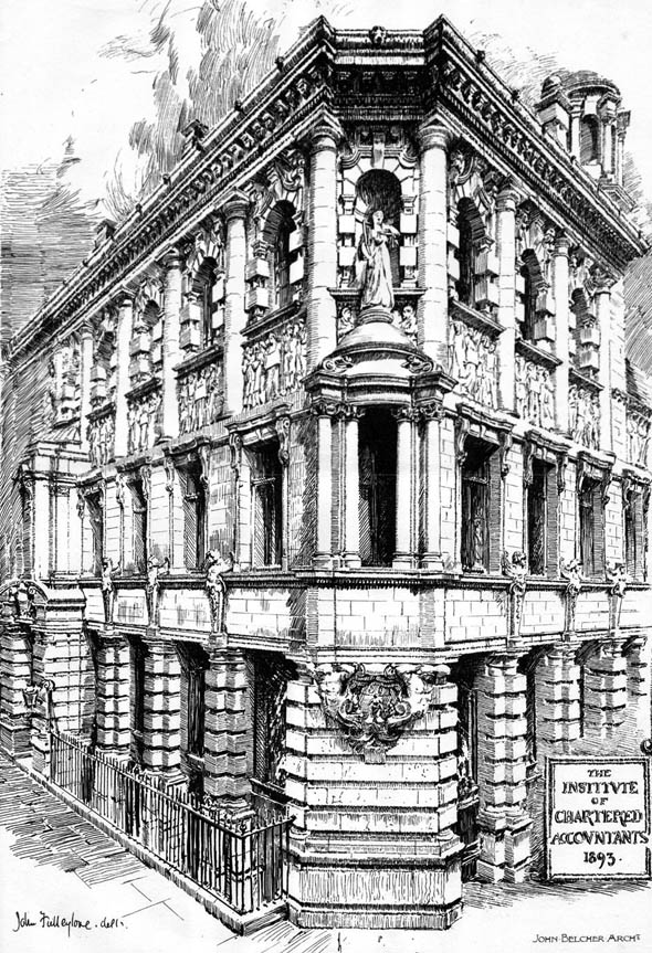 1894 – The Institute of Chartered Accountants, Moorgate Place, London