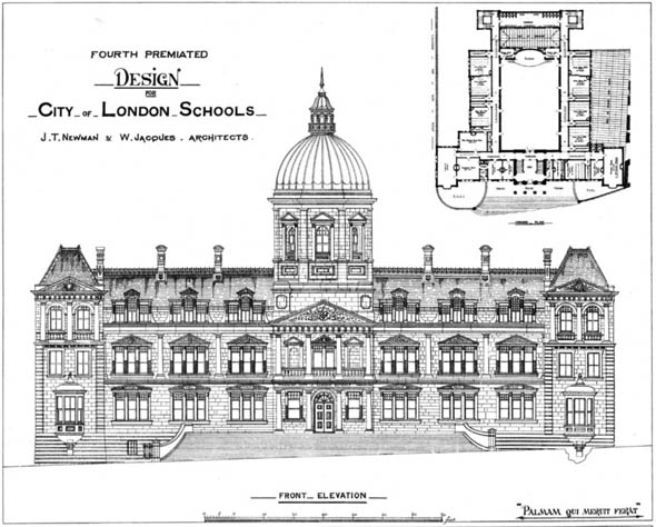 1879 – City of London School, London