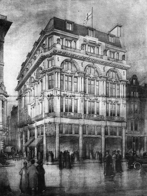 1906 – Mappin & Webb, Oxford Street, London