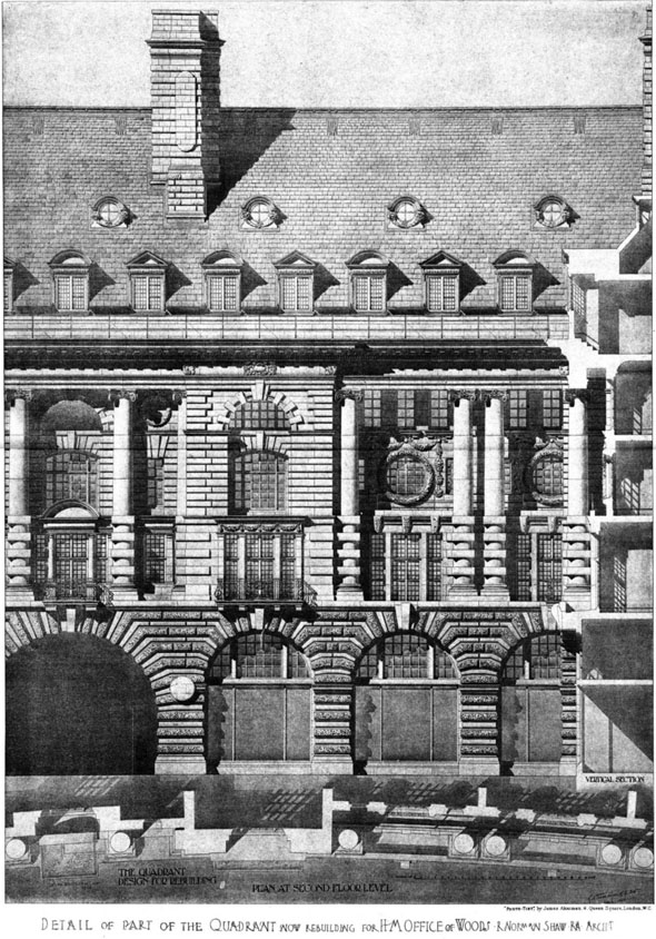 1906 – H.M. Office of Woods, Whitehall, London