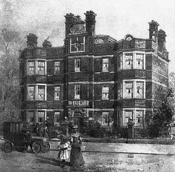 1906 – Flats, Tooting, London