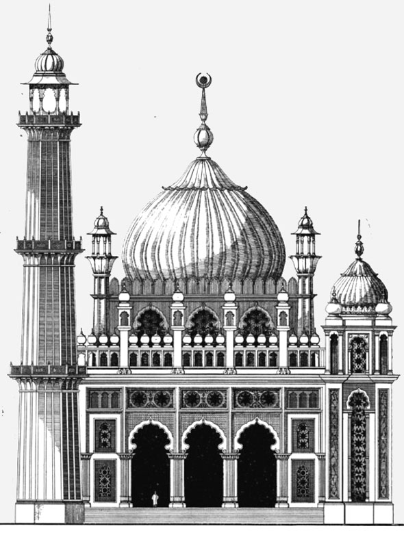 1906 – Proposed Mosque for London
