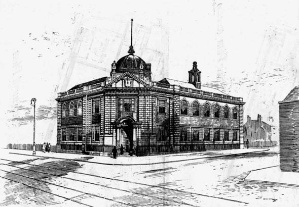 1906 &#8211; Hackney Central Library, London