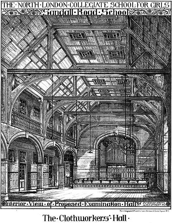 1878 – North London Collegiate School for Girls, Camden Town, London