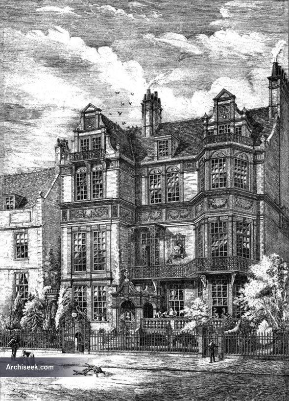 1875 – Residence, Camberwell, London