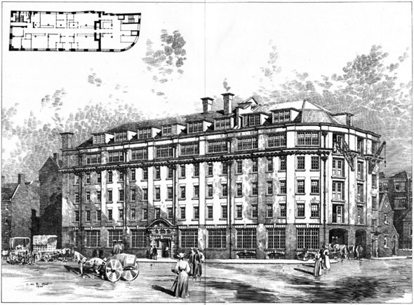 1898 – New Premises, Drury Lane, London