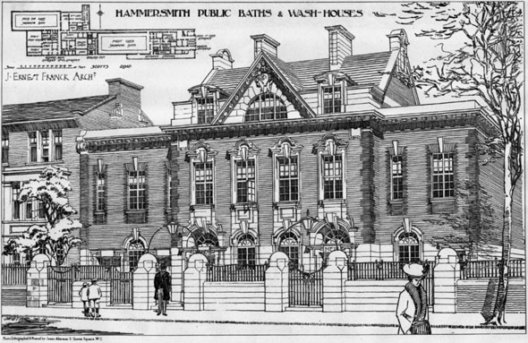 1906 – Hammersmith Public Baths & Wash Houses, London