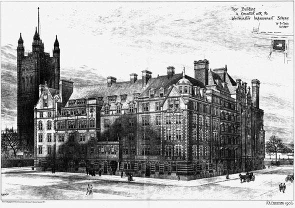 1906 – The Westminster Improvement Scheme, London