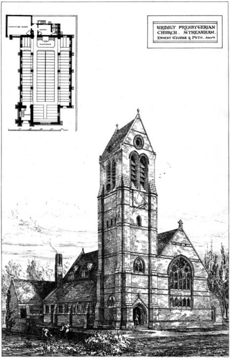 1877 – Trinity Presbyterian Church, Streatham, London
