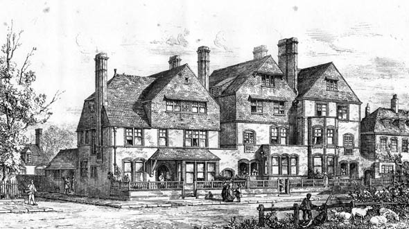 1877 – Hambly Houses, Streatham Common, London