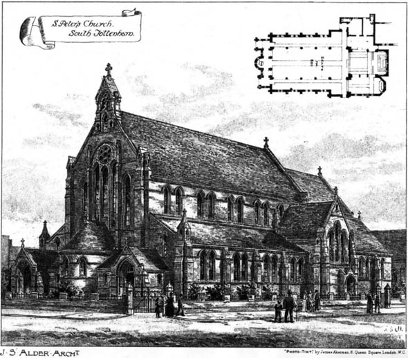 1894 &#8211; St. Peter&#8217;s Church, South Tottenham, London