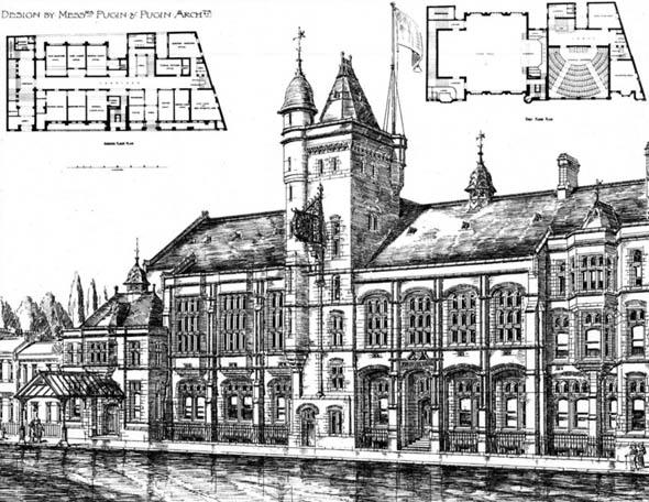 1894 &#8211; Hammersmith Town Hall Competition