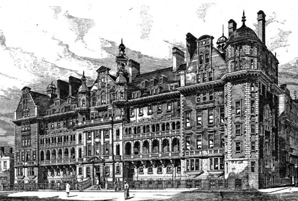 1896 – Clarence Memorial Wing St. Mary's Hospital, Paddington, London
