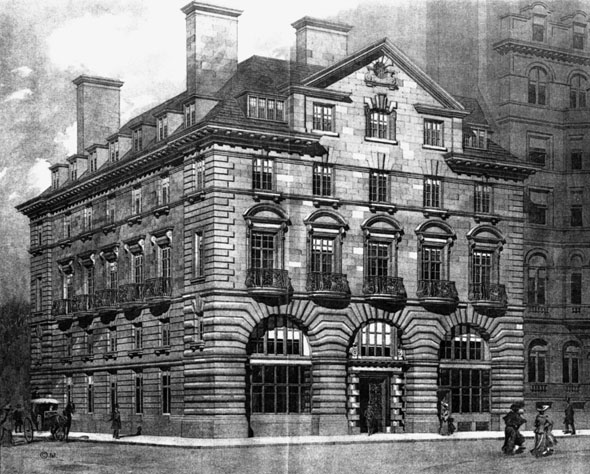1903 &#8211; Alliance Assurance Offices, 88 St. James&#8217;s Street, London