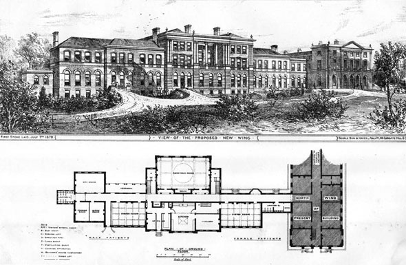 1879 – The Royal Hospital for Incurables West Hill, Putney, London