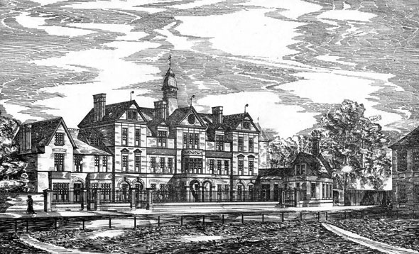 1882 – Evangelical Protestant Deconesses Institution & Training Hospital, Tottenham, London