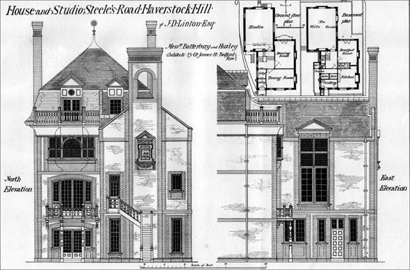 1877 &#8211; Steele&#8217;s Road, Haverstock Hill, London