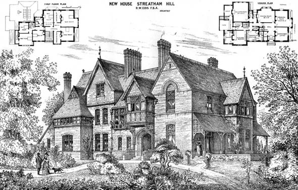 1875 – New House at Streatham Hill, London
