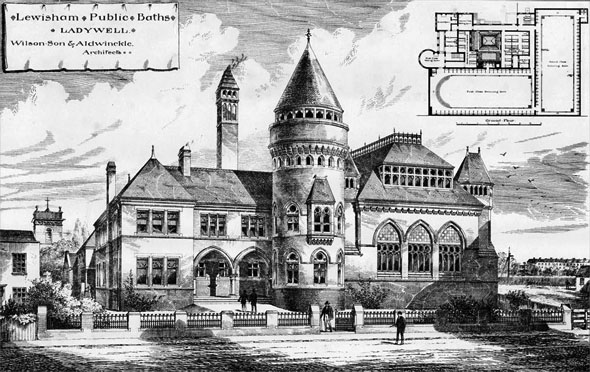 1885 – Lewisham Public Baths, London