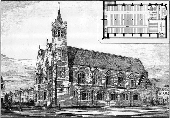 1885 &#8211; New Church, West Ham, London