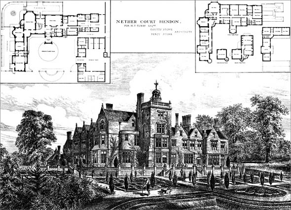 1881 – Nether Court, Hendon, London