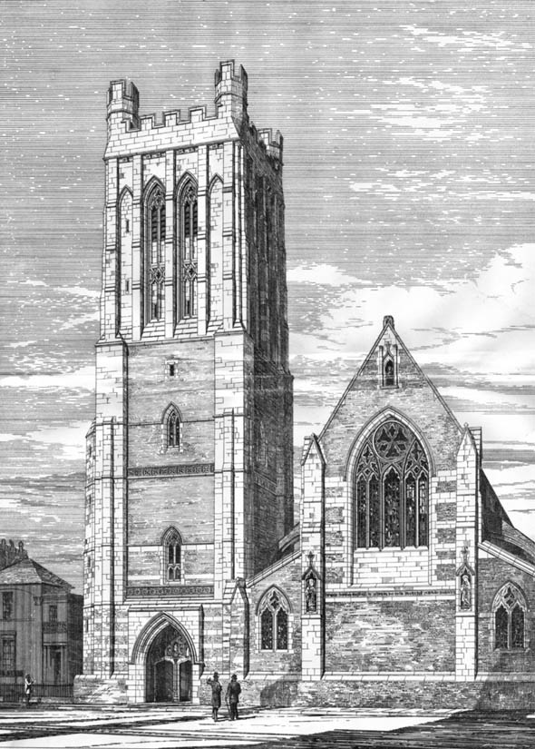 1881 &#8211; St. Michael&#8217;s Church, Camden Town, London