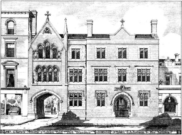 1880 &#8211; St. Marks Priory, West Brompton, London